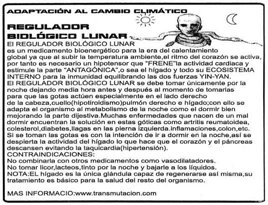 Regulador biologico lunar